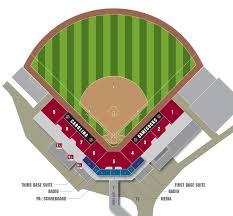 University Of South Carolina Baseball Seating Chart 72 Uncommon Gibbs Stadium Seating Chart