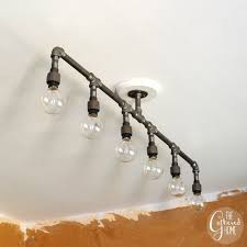 diy pipe lighting. How To Make A Fabulous Plumbing Pipe Light Fixture! Diy Lighting I