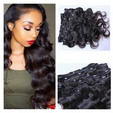 7a grade 100 brazilian virgin remy clips in human hair extensions 100g full head natural black wet and wavy wave clips in clip in extensions clip in