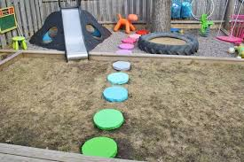 Great ideas for kids design, but especially love the outdoor play area!