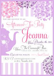 Kitchen Tea Party Invitation Bridal Shower Invitation Templates Shower Invitation Template