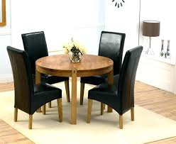 dining tables for 4 chair table set glass and chairs elegant round oak