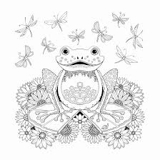 Lily Pad Coloring Page Free Coloring Pages