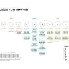 Dunlop Slide Size Chart Dunlop 202si Medium Glass Slide