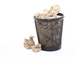 free stock photo  waste paper in a bin  freeimageslive