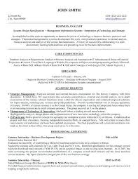 Business Resume Sample Analyst Cv Template Word Entry Level Ana – Rigaud