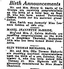 Birth Announcement In Newspaper Baby Birth Announcements In Newspaper Tirevi Fontanacountryinn Com