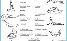 Basic Yoga Poses For Beginners Chart Archives
