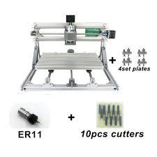 3 axis diy desktop cnc router kit 3018 engraver mini engraving milling machine