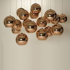 copper pendant lamp Ø 25 cm tom dixon the company