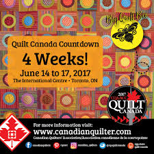Canadian Quilting CQA/ACC & The excitement is mounting as we prepare for Canada's national quilt  conference, Quilt Canada 2017, in Toronto June 14-17th! Adamdwight.com