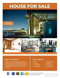 House For Sale Flyer Template Free Sample Templates Word