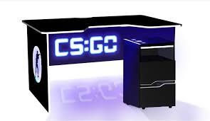 Компьютерный геймерский <b>стол CS</b>-GO с led подсветкой на IZI.ua ...