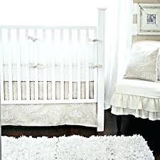 neutral crib bedding sets white and brown crib neutral crib bedding set property sand scroll vintage neutral crib bedding sets