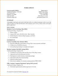 Resume Format For College Students Musiccityspiritsandcocktail Com