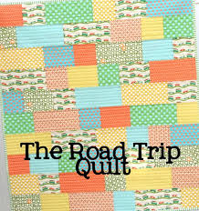 The Road Trip Quilt | Cluck Cluck Sew & This is a fun, fast quilt to make and a GREAT quilt for a beginner. You  only need to buy 10 different 1/8 yard strips and the cutting and sewing is  easy ... Adamdwight.com