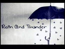 Image result for rain and thunder
