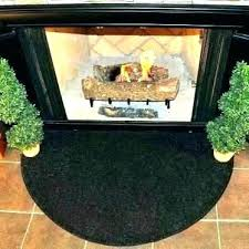 fireproof fireplace rugs plow hearth scalloped wool hearth fireproof rug fire resistant