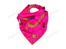 Купить Платок на голову из ткани <b>Yves Saint Laurent розового</b> ...