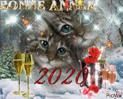 """Résultat de recherche d'images pour """"gif bonne année 2020"""""""