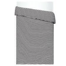 marimekko tasaraita duvet cover 150 x 200 cm black white