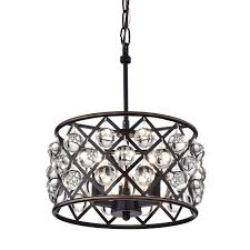azha small 3 light crystal drum pendant chandelier oil rubbed bronze regarding attractive household oil rubbed bronze crystal chandelier prepare