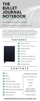 best ideas about bullet journal tips notebook epic official bullet journal notebook review giveaway