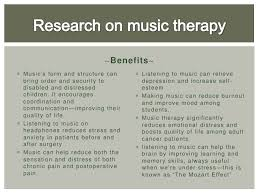 music therapy for stress pp