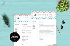 Uiux Designer Cv Template Resume Templates Creative Market