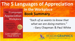Five Love Languages Chart Book Summary The 5 Languages Of Appreciation In The