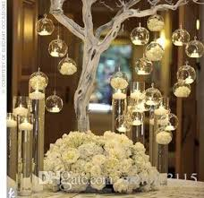 Glass Balls For Decoration Dia 1000cm Glass Balls Candles100cm Globe Hanging Tealight Holder For 72