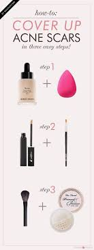 beauty hack how to cover up acne s three simple steps that will help