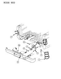 1990 dodge dakota l s wiring rear end diagram 000005zc