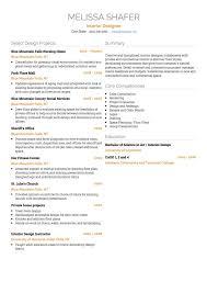 Artist CV example