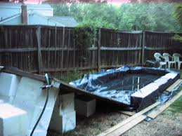 backyard pool with slides. Introduction: DIY Backyard Water Slide Pool With Slides O
