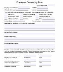 Disciplinary Write Up Forms 20 Employee Write Up Form Free Download Pdf Word