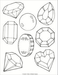 To print, click on the thumbnail and the use the printer icon to open up your browser's printer dialog box. Jewel And Treasure Coloring Page Coloring Book Art Coloring Pages Emoji Coloring Pages
