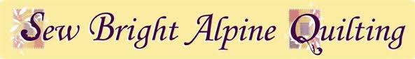 Sew Bright Alpine Quilting &  Adamdwight.com