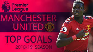 manchester united s top goals of the 2018 19 premier league season nbc sports