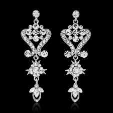 crystal glam earrings er58