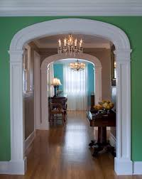 Interior Arch traditional-hall