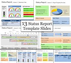 Project Status Reporting Status Template Be Clear Successful With Status Reports