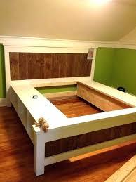 diy king platform bed with storage turncoatpresscom
