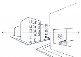 perspective drawings of buildings. Simple Buildings Drawings New On Excellent To Draw Linear Perspective Drawing Overview Of 3 Types