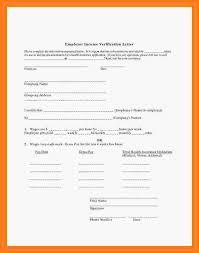 8 Employer Salary Verification Letter Sales Slip Template