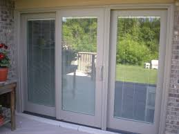 Blinds Between The Glass Sliding Patio Door - Exterior patio sliding doors