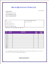 Quotation Proforma Format 28 Images Of Sales Quotation Template Leseriail Com