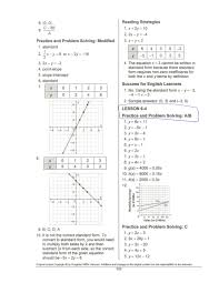 write linear equations in standard form worksheet image collections
