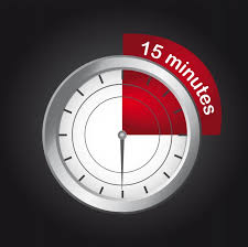 15 Minute Mark On Clock Icons Free Download