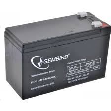 Батарея для <b>UPS Gembird</b> BAT-12V7.5AH
